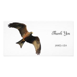 Fire Eagle Customized Photo Card