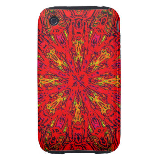 FIRE Element Kaleido Pattern iPhone3 Case Tough iPhone 3 Case