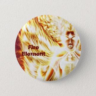 Fire Elemental button by Nellis Eketorp