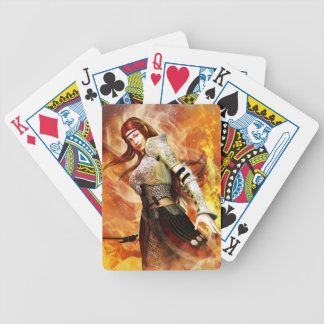 Fire Elf Bicycle Playing Cards