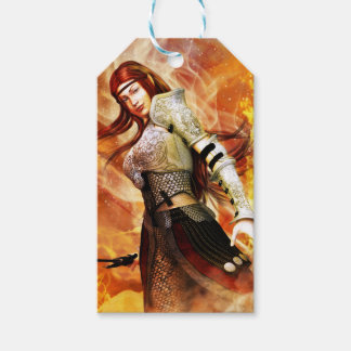 Fire Elf Gift Tags