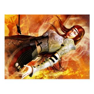 Fire Elf Postcard