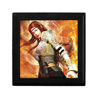 Fire Elf Small Square Gift Box