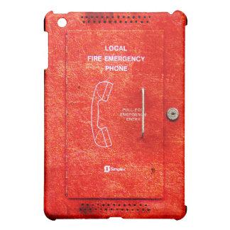 Fire emergency phone iPad mini covers