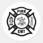 Fire EMT Stickers
