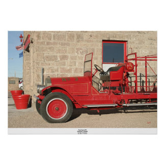 Fire Engine #3, Goldfield, Nevada Poster