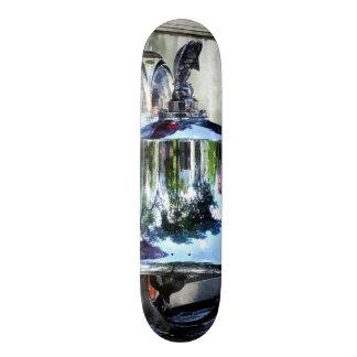 Fire Engine Bell Closeup Skate Board