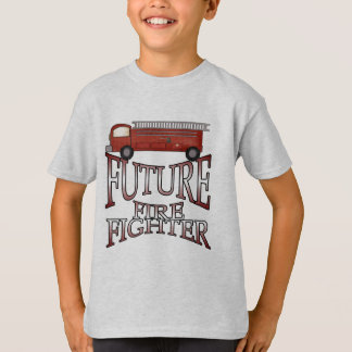 Fire Engine Future Firefighter T-shirts and Gifts
