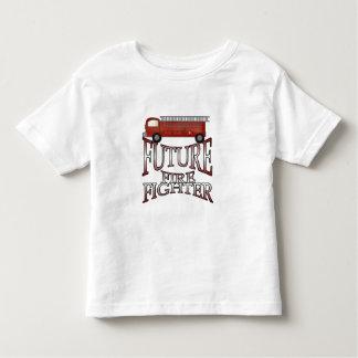 Fire Engine Future Firefighter Toddler T-Shirt