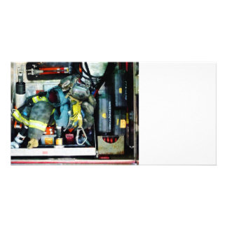 Fire Engine Gear Picture Card