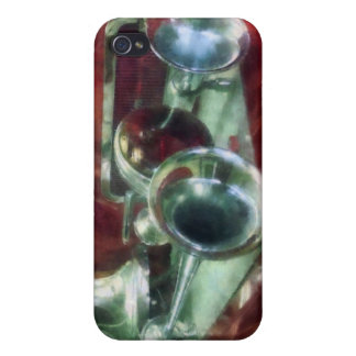 Fire Engine Horns and Bell Covers For iPhone 4