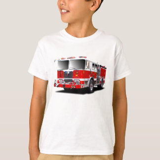 Fire Engine images for kids t-shirt