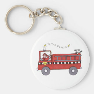 Fire Engine Key Ring