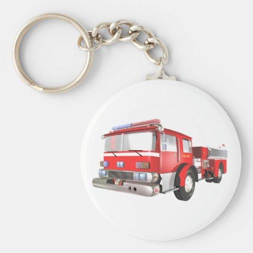 Fire Engine Keychains