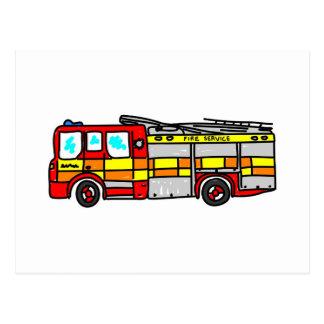 Fire Engine Postcards