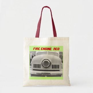 Fire Engine - Red Budget Tote Bag