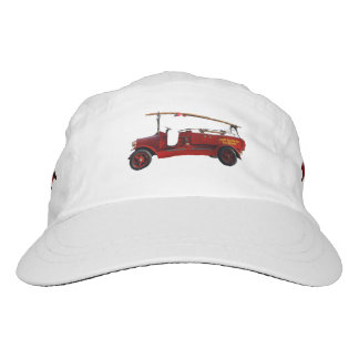 Fire_Engine_Red_Vintage,_Woven_Performance_Cap Hat