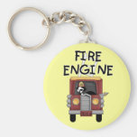 Fire Engine T-shirts and Gifts Keychains