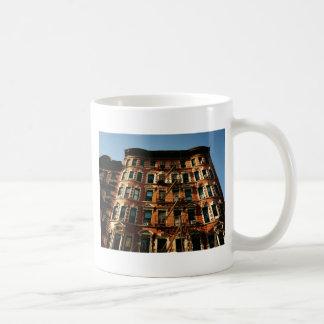 Fire Escapes and Brick Basic White Mug