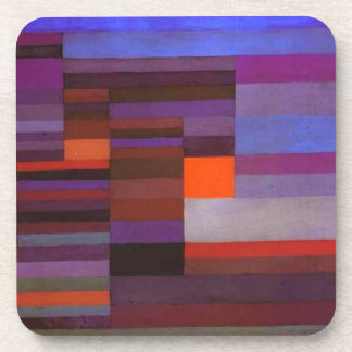 Fire evening by Paul Klee Coaster