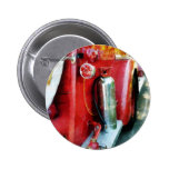 Fire Extinguisher on Fire Truck Pinback Button