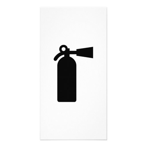 Fire Extinguisher Photo Greeting Card