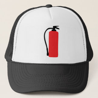 fire extinguisher trucker hat