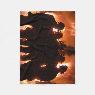 Fire Family Fleece Blanket