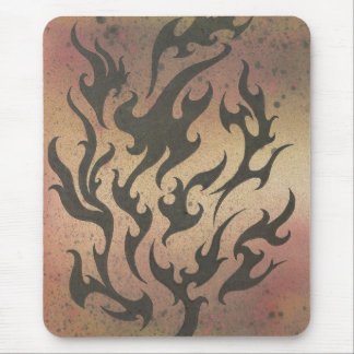 FIRE FIELD MOUSE PAD
