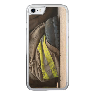 Fire Fighter Carved iPhone 7 Case
