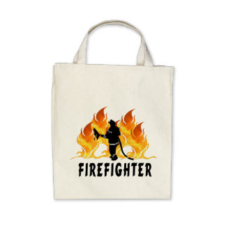 Fire Fighter Flames Bag