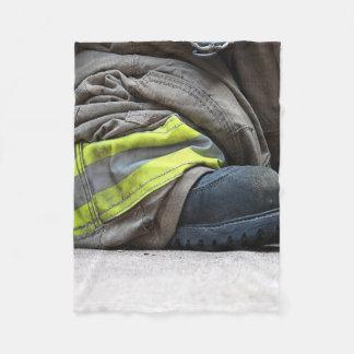 Fire Fighter Fleece Blanket