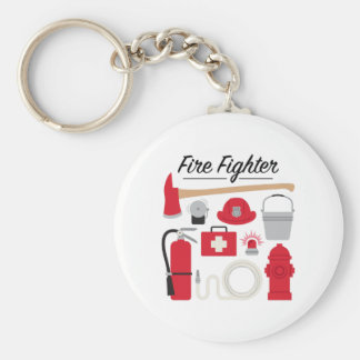 Fire Fighter Key Ring