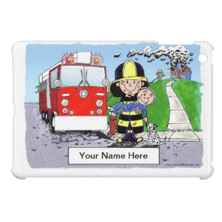 Fire Fighter - Male iPad Mini Case