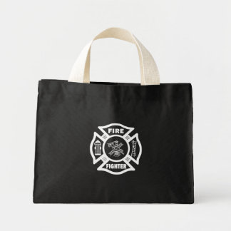 Fire Fighter Maltese Canvas Bag