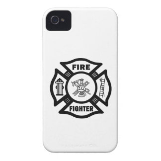 Fire Fighter Maltese iPhone 4 Covers
