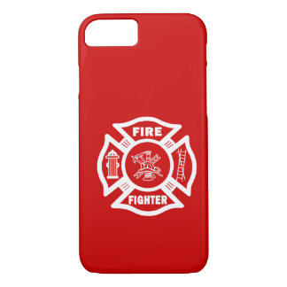 Fire Fighter Maltese iPhone 7 Case