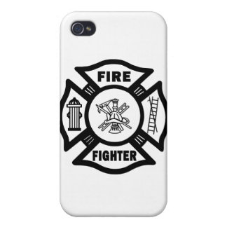 Fire Fighter Maltese Cover For iPhone 4