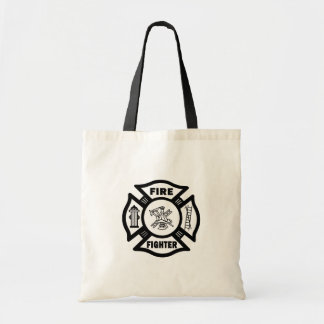 Fire Fighter Maltese Canvas Bag