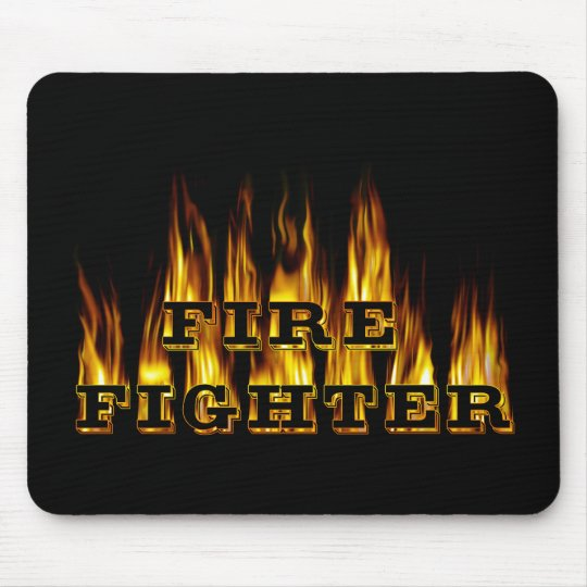 Fire Fighter Mouse Mat