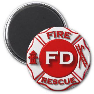 Fire Fighter Pride Magnet