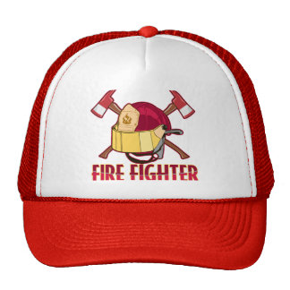 Fire Fighter Tribute Mesh Hat