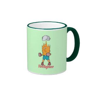Fire Fighter - Word Play Mug