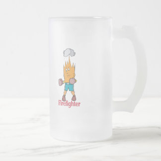 Fire Fighter - Word Play Coffee Mugs