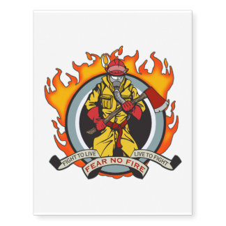 Fire Fighters Fear No Fire