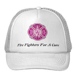 Fire Fighters For A Cure Truckers Hat