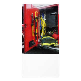 Fire Fighting Equipment Picture Card