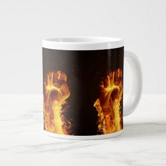 Fire Fist Jumbo Mug