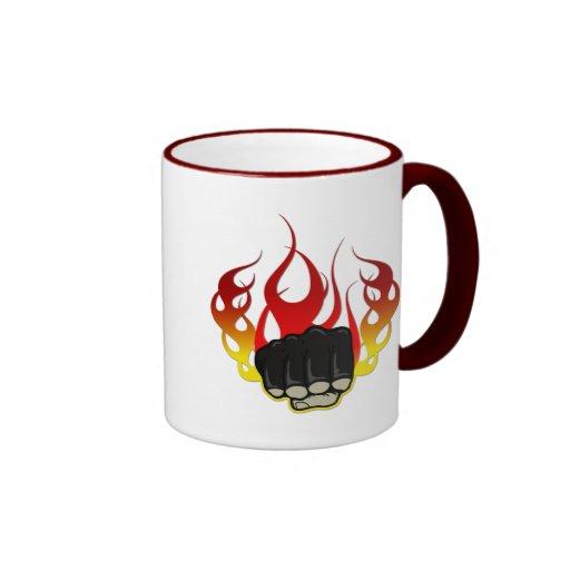 Fire fist mug
