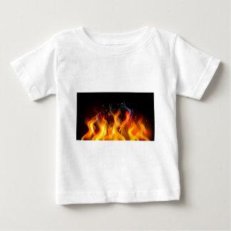 Fire Flames Baby T-Shirt